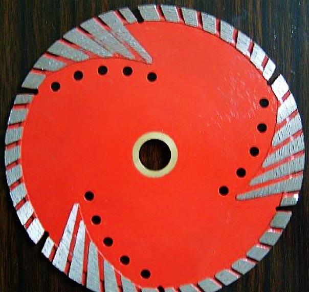 Алмазный диск Turbo-W для твердых абразивных материалов, 230мм, Flange