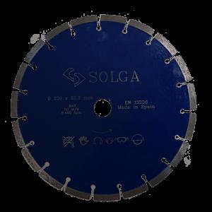 Алмазный диск по железобетону, Laser Profi, Solga Diamant