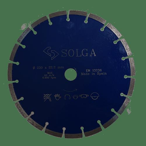 Купить профессиональный алмазный отрезной круг Solga Diamant D230