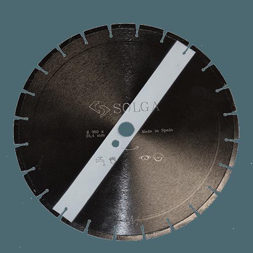Алмазный круг по асфальту, универсал 350, Solga Diamant