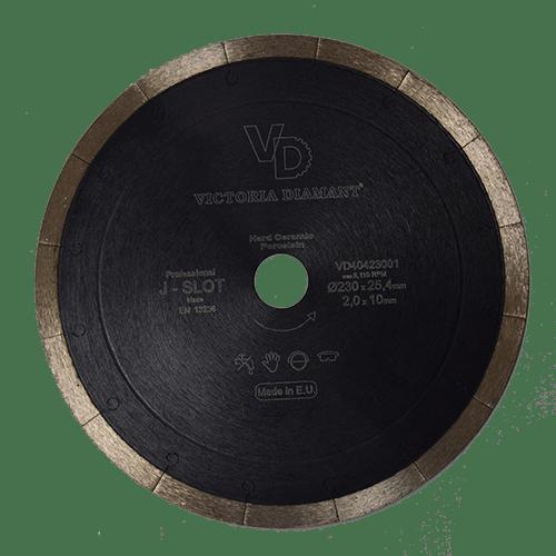 Алмазный отрезной диск J-Slot Professional, Victoria Diamant