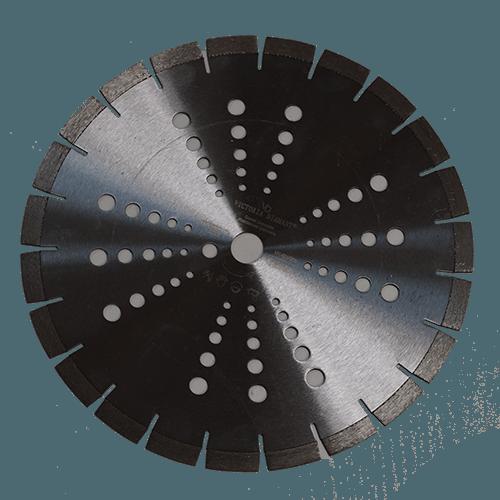 Купить профессиональный алмазный отрезной круг Laser-D350-VX Victoria Diamant