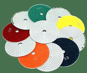 Гибкие шлифовально-полировальные круги