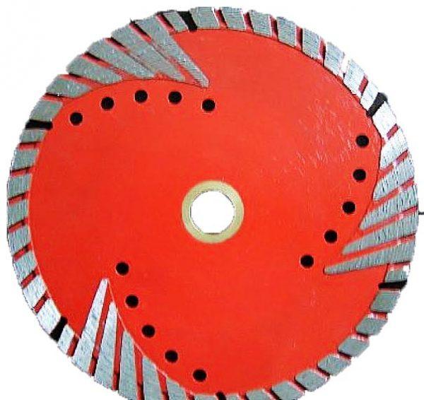 Алмазный диск Turbo-W для твердых абразивных материалов