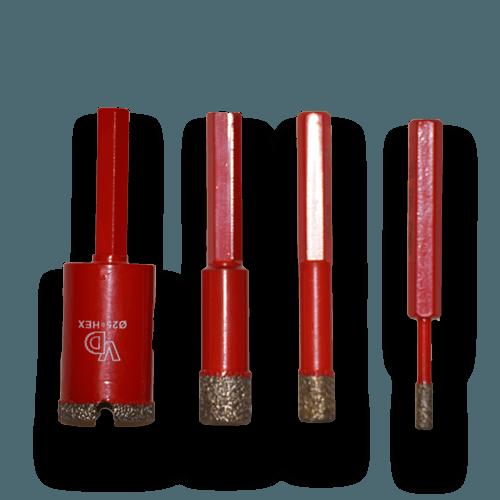 Алмазное кольцевое сверло для керамогранита Ф18-35