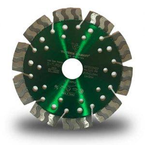 Алмазный диск по железобетону и гранитуS-TURBO LASER SUPER PREMIUM
