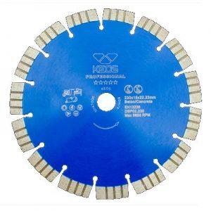 Сегментный алмазный диск KEOS Professional
