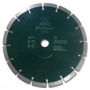 Сегментный алмазный диск KEOS Standart