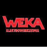 Логотип компании WEKA, производящая алмазный инструмент и оборудования для резки, бурения и сверления