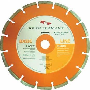 Алмазный отрезной диск Laser BASIC Line