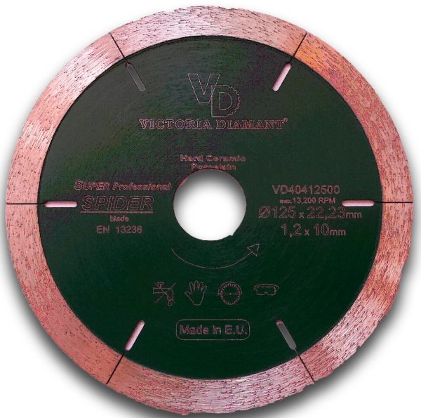 Алмазный отрезной диск SPIDER Super Professional, Victoria Diamant
