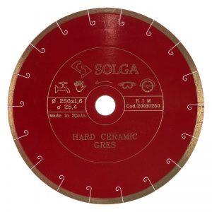 Алмазный диск HARD CERAMICS Solga Diamant