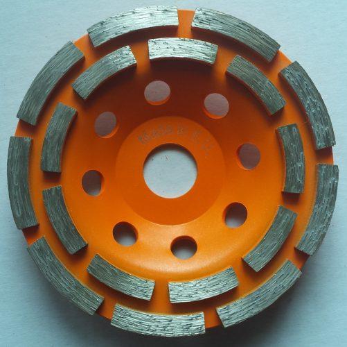 Алмазная торцевая двухрядная фреза D125 Victoria Diamant Basic Line