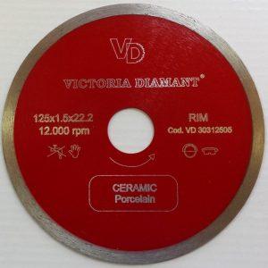 Алмазный диск по керамике D125 Continuous RIM купить в Минске