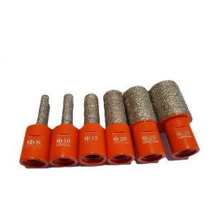 Алмазная пальчиковая фреза D8,10,15,20,25,30