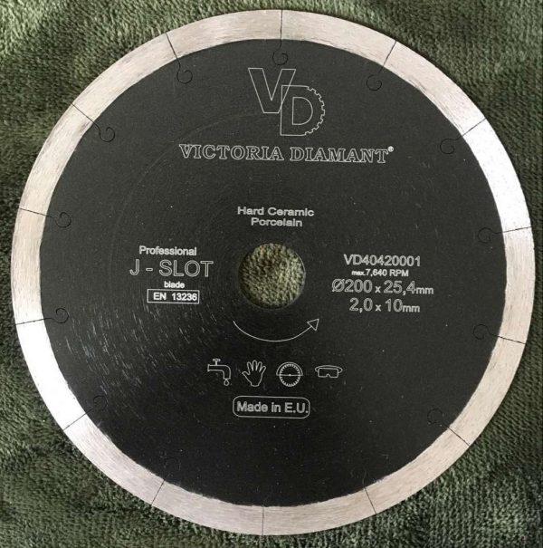 Алмазный диск J-Slot Professional (Мокрая резка)