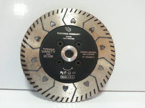 Алмазный диск-фреза Professional Vanity по граниту