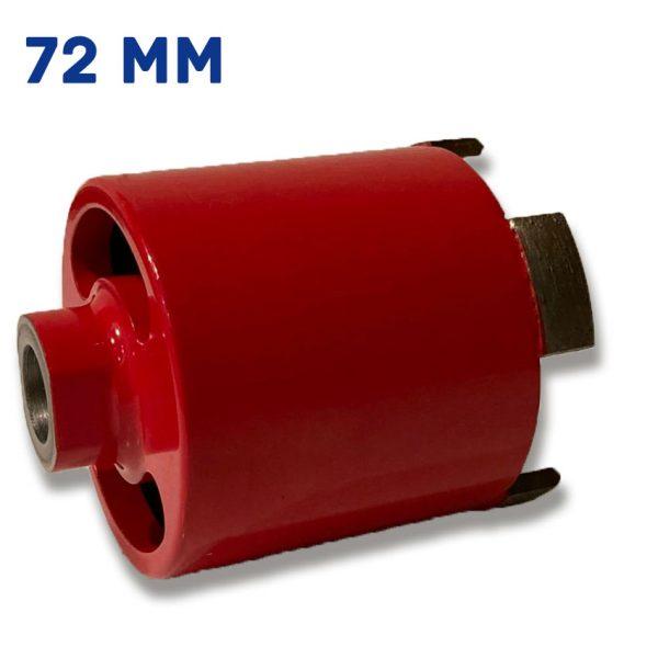 Алмазная коронка для подрозетников 72 мм