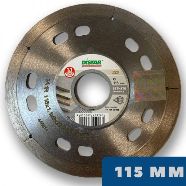 Алмазный диск ESTHETE 7D 115 мм по керамограниту