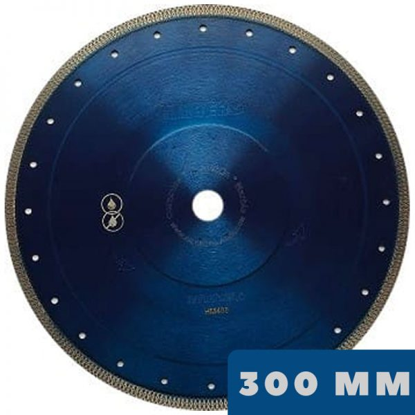 Ультратонкий алмазный диск Hilberg 300 мм, ТУРБО Х