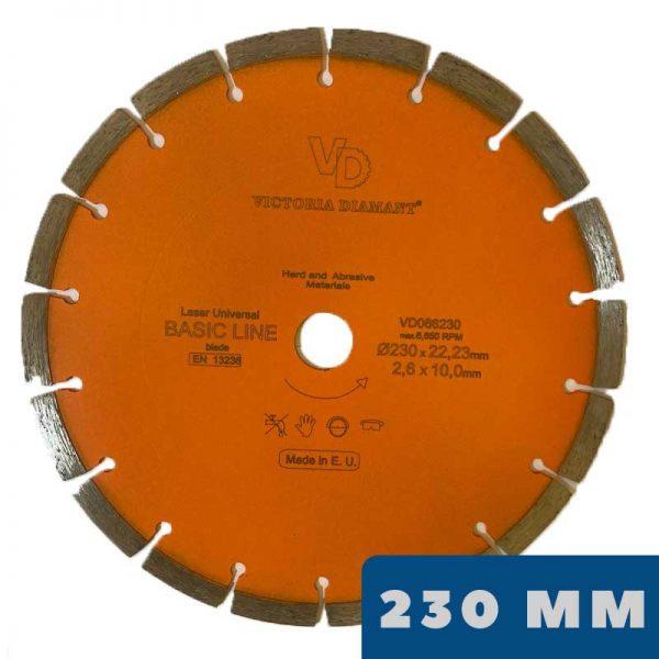 Алмазный отрезной диск Laser BASIC Line (230 мм)