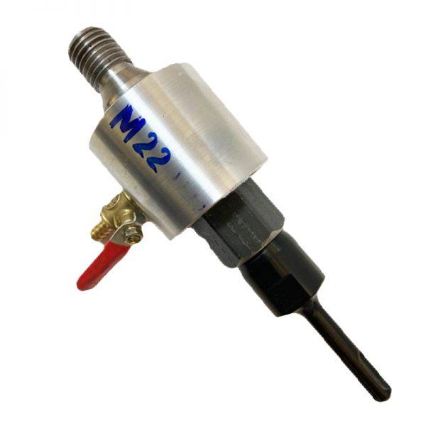 Адаптер подключения воды М22-SDS+ (Алюминий)