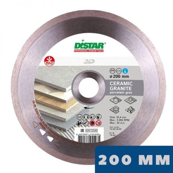 Алмазный диск 1A1R Bestseller Ceramic Granite Ø200