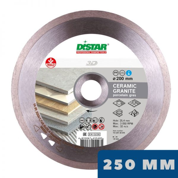 Алмазный диск 1A1R Bestseller Ceramic Granite Ø250