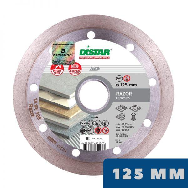 Алмазный диск 1A1R Razor Ø125