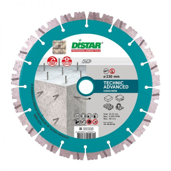 Алмазный диск 1A1RSS Technic Advanced